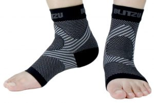 blitzu plantar ankle sleeve